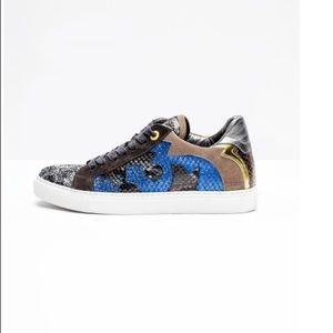 Zadig Et Voltaire Nash Glitleo Sneakers